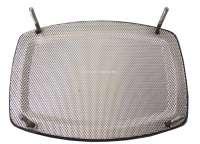 Lautsprecherabdeckung Chrom, eckig, 120x160mm. Universal passend. Per Stück -1 - 18510 - Der Franzose
