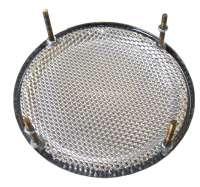 Lautsprecherabdeckung Chrom, rund, 130mm, Universal passend, per Stück -1 - 18508 - Der Franzose
