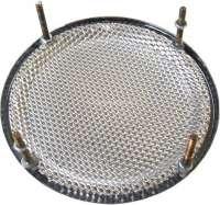 Lautsprecherabdeckung Chrom, rund, 130mm, Universal passend, per Stück -2 - 18508 - Der Franzose