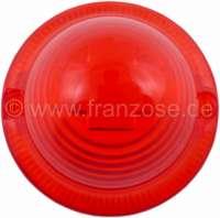 Rücklichtkappe rot, rund (Nachbau, ohne Prüfzeichen), für Citroen AK/AZU (Kastenenten), DS Break, HY, Mehari, Ami6. Für Lampenhersteller Seima. Or.Nr.AK544262A -2 - 14221 - Der Franzose