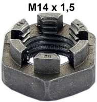 Kronenmutter M14x1,5. Niedrige Bauform | 20995 | Der Franzose - www.franzose.de