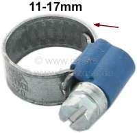 Schlauchschelle+11-17mm%2C+speziell+f%FCr+K%FChlerschlauch.+Nostalgische+Optik.+Gepr%E4gtes+Band+mit+hochgestellten+Kanten.+Somit+wird+ein+verquetschen+des+Schlauches+vermieden.+Kleines+Schraubgeh%E4use+mit+7mm+Sechskantschraube+%28mit+Schlitz%29.+Bandbreite%3A+9mm.+Normale%2C+moderne+Schlauchschellen+zerquetschen+den+Schlauch.+Das+wird+mit+diesen+Schellen+komplett+vermieden.+Und+sie+sehen+auch+noch+besser+aus.