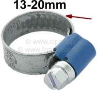 Schlauchschelle+13-20mm%2C+speziell+f%FCr+K%FChlerschlauch.+Nostalgische+Optik.+Gepr%E4gtes+Band+mit+hochgestellten+Kanten.+Somit+wird+ein+verquetschen+des+Schlauches+vermieden.+Kleines+Schraubgeh%E4use+mit+7mm+Sechskantschraube+%28mit+Schlitz%29.+Bandbreite%3A+9mm.+Normale%2C+moderne+Schlauchschellen+zerquetschen+den+Schlauch.+Das+wird+mit+diesen+Schellen+komplett+vermieden.+Und+sie+sehen+auch+noch+besser+aus.