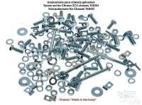 Schraubensatz für das Citroen 2CV Chassis