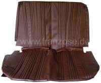 AMI8, Sitzbankbezug hinten, aus Kunstleder. Farbe: braun. Passend für Citroen AMI8. | 18594 | Der Franzose - www.franzose.de