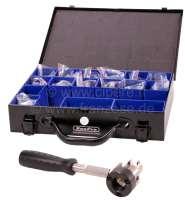 Hydraulikleitungs Bördelgerät für Nutzung am Fahrzeug! Für alle Bördelungen!  Für alle Citroen Leitungen mit 3,5mm, 4,5mm + 6,35mm(1/4