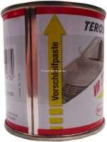 Ventileinschleifpaste (Motorventile im Zylinderkopf), 100ml Dose. Die Doppeldose enthält Vorschleifpaste (grob) und Nachschleifpaste (fein). -1 - 20503 - Der Franzose