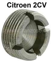 Spurstangenkopf Verschlußmutter. Passend für Citroen 2CV. Die Mutter ist verstärkt und ist daher leichter einzustellen. - 12014 - Der Franzose