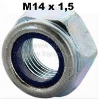 Mutter selbstsichernd M14 x 1,5. Verbaut an Stoßdämpferbolzen (14mm) Citroen AK, ACDY, AMI. - 12373 - Der Franzose