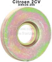 Stoßdämpferbolzen - Scheibe dick, passend für Citroen 2CV (12mm). Or.Nr.: AM436-256. Made in Germany. - 12067 - Der Franzose