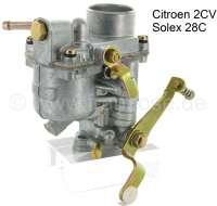 Vergaser SOLEX 28C, passend für Citroen 2CV, frühe Baujahre (AZAM). - 10287 - Der Franzose