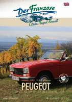 Peugeot Katalog 2021 in englisch! Kompletter Katalog DER FRANZOSE mit Bildern und Preisen (zzgl. Versand) - 79991 - Der Franzose