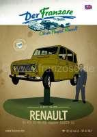 Renault Katalog 2017 in englisch. Kompletter Katalog DER FRANZOSE mit Bildern und Preisen (zzgl. Versand). 326 Seiten! | 89991 | Der Franzose - www.franzose.de