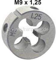 M9 x 1,25 Schneideisen (Außengewindeschneider). - 21149 - Der Franzose