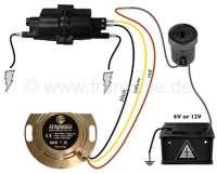 Elektronische Zündanlage 6 + 12 Volt. Für alle Citroen 2CV, vom 375ccm Motor mit 9 PS bis zum M28/1 Motor vom 2CV6. Die Anlage ist in 16 Positionen einstellbar. Alle Motoren, die jemals im 2CV montiert wurden, sind einstellbar. Diese elektronische Zündanlage ist sehr einfach einzubauen und hat keine mechanischen Bauteile mehr, die verschleißen können. Es entfallen sämtliche Wartungsarbeiten an der Zündung. Sie werden begeistert sein! -1 - 14328 - Der Franzose