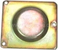 Kontaktgehäuse Verschlussdeckel für Citroen 2CV4+6. Nachbau, verzinkt. -1 - 14338 - Der Franzose