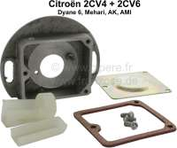 Kontaktgehäuse leer, für Citroen 2CV. - 14320 - Der Franzose