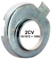 Stößelrohrdichtung - Blechteller, für Citroen 2CV6 ab Baujahr 10/1972.  Passend für die Stößelrohrdichtung mit schmalen Verbindungssteg. Per Stück! | 10306 | Der Franzose - www.franzose.de