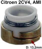 Ventilschaftdichtung Einlass, für AMI6, 2CV4. Innendurchmesser 7,8mm. Aussendurchmesser 9,9mm-13,2mm, Stärke 10mm. Per Stück! - 10586 - Der Franzose