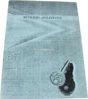 Betriebsanleitung, für ID 19 Confort + Export. Ausgabe 5/1961. 45 Seiten. Nachfertigung. - 38233 - Der Franzose