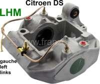 Bremssattel links, im Austausch. Hydrauliksystem LHM. Passend für Citroen DS, ab Baujahr 1966. Or. Nr. DVN451020. Zuzüglich Altteilpfand 150 Euro. - 33027 - Der Franzose