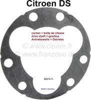 Antriebswelle Dichtung, für die Verschraubung am Getriebe. Passend für Citroen DS. Or. Nr. DS 373-71. Made in Germany. - 33162 - Der Franzose
