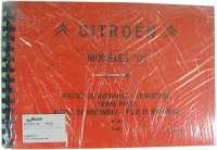 Ersatzteilkatalog, für Citroen DS. Band 1 + 2. Modelle von 1966 bis 1969. 1100 Seiten. Nachfertigung. | 38228 | Der Franzose - www.franzose.de