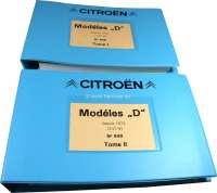 Ersatzteilkatalog, für Citroen DS. Band 1 + 2. Modelle ab 07/1971. 800 Seiten. Nachfertigung. | 38230 | Der Franzose - www.franzose.de