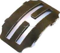 Schalthebelplatte (Schaltkulisse). Passend für Citroen 11CV. Or. Nr. 515522H. - 60767 - Der Franzose
