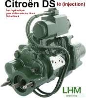 Schaltblock, im Austausch. Hydrauliksystem LHM. Passend für Citroen DS IE, mit Einspritzmotor. Or. Nr.DXN33410A. Zuzüglich Altteilpfand 150 Euro. - 33165 - Der Franzose