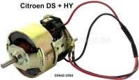 Gebläsemotor für die Heizung. Neuteil. Passend für Citroen DS + Citroen HY. Or. Nr. DX642-228A - 32295 - Der Franzose