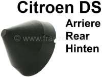 Gummianschlag rund (kegelförmig), für die Hinterachse. Passend für Citroen DS + SM. Citroen HY. Abmessung: ca. 46,5x34mm. Or. Nr. 1D5404572Y + D437-1 | 32001 | Der Franzose - www.franzose.de