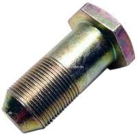 Schraube für die Hinterachsbefestigung. Passend für Citroen 11CV + 15CV. Maß: M25 x 1,5. (Schlüsselweite 35mm).  Or.Nr. 421356 | 60864 | Der Franzose - www.franzose.de