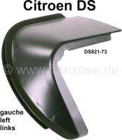 Heckabschluss, Reparaturblech unter dem hinterem linken Kotflügel (Ohr links). Passend für Citroen DS Limousine. Or. Nr. DS821-73 - 35182 - Der Franzose