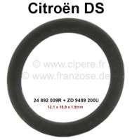 Sicherheitsschieber, Dichtring (O-Ring) klein. Hydrauliksystem LHM. Passend für Citroen DS, außer Serie DV, DT, DP (D-Special, D-Super, D-Super5). Abmessung: 12,1 x 15,9 x 1,9mm. Or. Nr. 24 892 009R + ZD 9489 200U - 33293 - Der Franzose