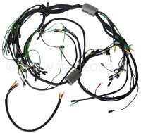 Hauptkabelbaum. 8 Sicherungen (Exportversion). Batterie links. Gleichstrom. 4 Relais. Passend für Citroen DS (Modell DX-DJ), ab Baujahr 09/1965 bis 09/1966. Made in Germany. - 35524 - Der Franzose