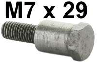 Lenkrad Befestigungsbolzen (M7 x 29mm). Passend für Citroen 11CV + 15CV. Or. Nr. 604126 | 60230 | Der Franzose - www.franzose.de