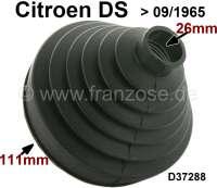 Antriebswellenmanschette getriebeseitig. Passend für Citroen DS, bis Baujahr 09/1965. Durchmesser:  26 + 111mm. Or. Nr. D37288 - 32150 - Der Franzose
