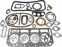 Motordichtsatz incl. Zylinderkopfdichtung, passend für Citroen DS20, DS21, ID19B, ID20, ID20F, ID21F  (Motor DV3, DY3, DX). Der Motordichtsatz wird ohne Simmerringe geliefert. Für Bohrung: 86,0mm + 90,0mm. - 30009 - Der Franzose
