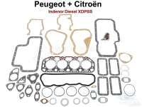 P 404/504/HY, Motordichtsatz Indenor Diesel XDP88. Bohrung 94mm. Passend für Citroen HY Diesel + Peugeot 404 D + 504 D. Ohne Simmerringe. | 40002 | Der Franzose - www.franzose.de
