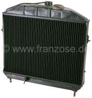 Kühler (im Austausch), passend für Citroen HY Benziner, bis Baujahr 1958. Made in Germany. Der Kühler wird komplett zerlegt, gereinigt, Kühler glasstrahlen, Kühlernetz erneuern, Kühler auf Dichtheit geprüft und Kühler komplett lackiert. Zuzüglich 250 Euro Altteilpfand. -1 - 48339 - Der Franzose