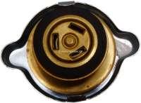 Kühlerdeckel, für Peugeot Diesel + Citroen HY Diesel. Passend für Peugeot 204 D, 304 D, 404 D, 504 D, 505 D, 604 D. Durchmesser: 56mm. Druckteller Durchmesser: 39mm. -1 - 72583 - Der Franzose