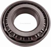 Radlager hinten, grosse Ausführung. Das Radlager ist teilbar. Passend für Citroen DS. Abmessung: 80x40x20mm (Kegelrollenlager). Or. Nr. ZC9620079U. Made in Spain - 32008 - Der Franzose