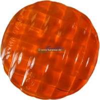 Blinkerkappe hinten. Farbe: orange. Passend für Citroen DS Limousine. Sehr hochwertiger Nachbau. | 34056 | Der Franzose - www.franzose.de