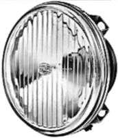 Reflektor universal, Hersteller Hella. Dieser Reflektor kann für  Marchal Zusatzscheinwerfer benutzt werden. Leuchtmittel: H3. Durchmesser: 124mm. Lichtaustritt: 120mm. -2 - 34307 - Der Franzose