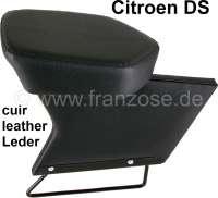 Mittelarmlehne%2C+passend+f%FCr+Citroen+DS.+Leder+schwarz.