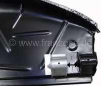 Radkasten hinten links. Stoßstangenaufnahme (komplett) links. Passend für Citroen DS Limousine. | 35242 | Der Franzose - www.franzose.de