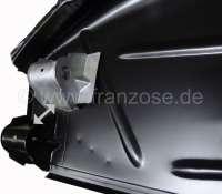 Radkasten hinten rechts. Stoßstangenaufnahme (komplett) rechts. Passend für Citroen DS Limousine. -1 - 35243 - Der Franzose