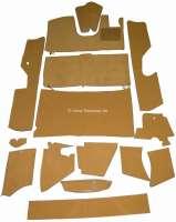 DS Pallas RHD, Teppichsatz 14 teilig, Farbe beige. Passend für Citroen DS Pallas, rechtsgelenkt. Gute Qualität. Der Teppichsatz wird ohne Schaumstoff und ohne Filzmatten geliefert. | 38368 | Der Franzose - www.franzose.de