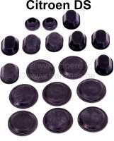 Dichtgummisatz (Stöpsel), für die Türen. Passend für Citroen DS. Bestehend aus: 2x 17mm + 8x 41mm + 8x ovales Gummi. - 35013 - Der Franzose